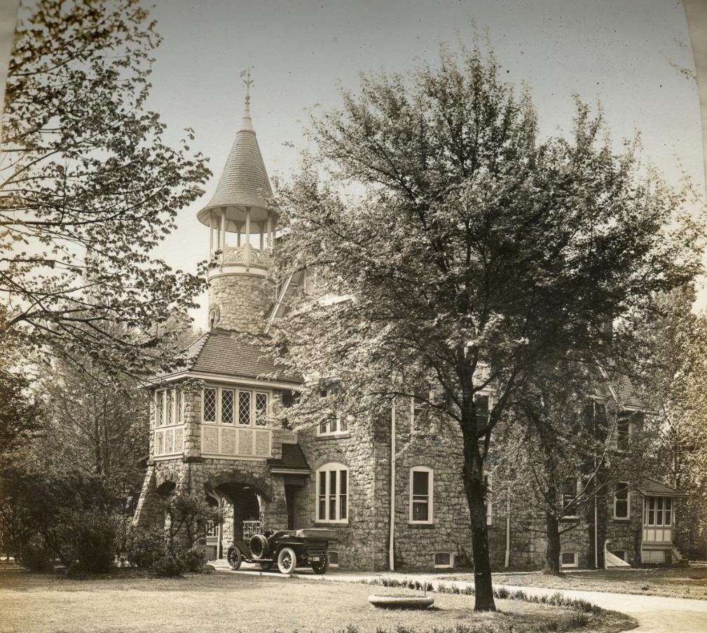 The Betz Mansion circa 1914