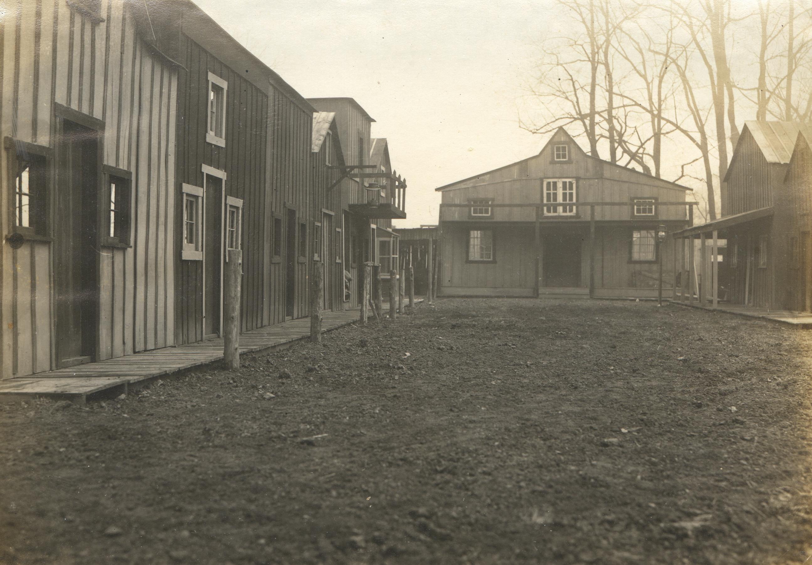 Cowboy Village set