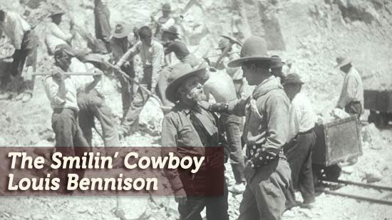 The Smiling Cowboy: Louis Bennison